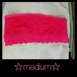 VS PINK Lace Bandeau *medium*